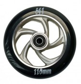 841 Wheel forged 5 Star III - schwarz/silber