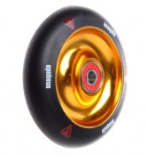 anaquda Wheel -FullCore - 100 mm - schwarz/gold