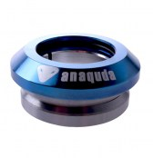 anaquda Headset integrated - blauchrome