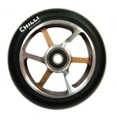 Chilli 6-Spoke Wheel- schoko/silber