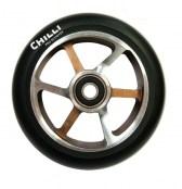 Chilli 6-Spoke Wheel- schoko/silber