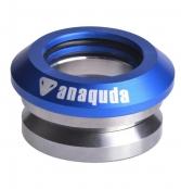 anaquda Headset integrated - blau