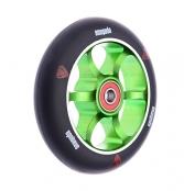 anaquda spoked wheel 110 - schwarz/grün