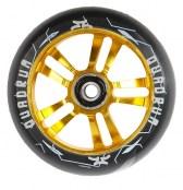 AO Quadrum Wheel 100 mm inkl. Titen ABEC-7 - schwarz/gold