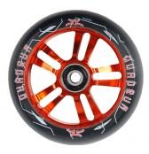 AO Quadrum Wheel 100 mm inkl. Titen ABEC-7 - schwarz/rot