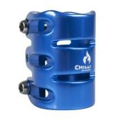Chilli 3-Bolt Clamp - blau