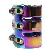 Chilli 3-Bolt Clamp - rainbow