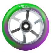 Chilli 6-Spoke Wheel - grün/lila