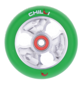 Chilli Parabol Wheel 100mm - grün/silber