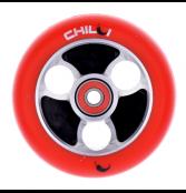 Chilli Parabol Wheel 100mm - schwarz/rot