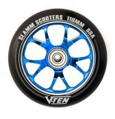 Slamm Wheel V-Ten II 110 mm - schwarz/blau