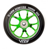 Slamm Wheel V-Ten II 110 mm - schwarz/grün